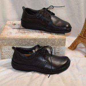 BIRKENSTOCK FOOTPRINTS Leather Lace Up Shoes Sz 6